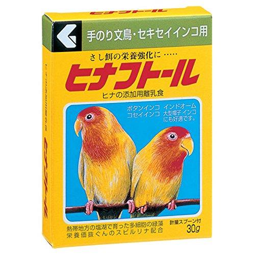 現代製薬 ヒナフトール 手のり文鳥・セキセイインコ用 30g