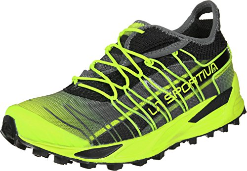 La Sportiva Mutant, Zapatillas de Trail Running Hombre, Multicolor (Apple Green/Carbon 000), 43 EU