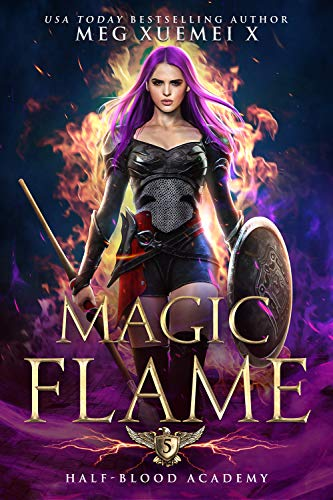 Half-Blood Academy 5: Magic Flame: a Reverse Harem Fantasy Romance