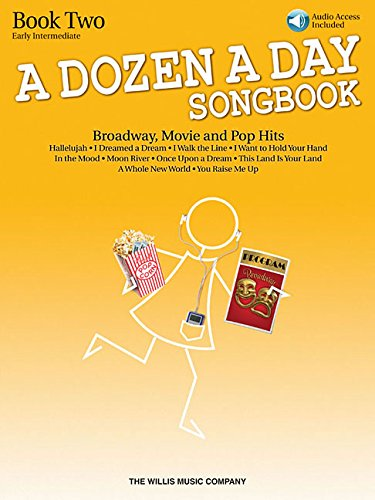 A Dozen A Day Songbook Book two early Intermediate Level