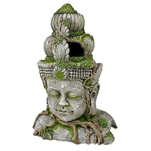 Rosewood Figura Decorativa de poliresina con Cabeza de Musgo, tamaño Grande