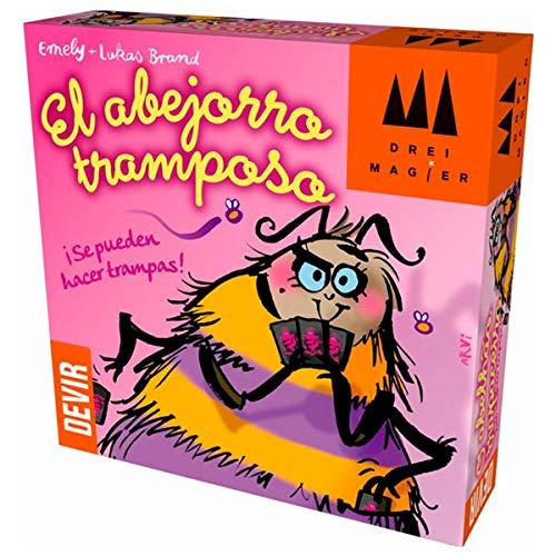 Devir El abejorro tramposo, Juego de Mesa, Multicolor , color/modelo surtido