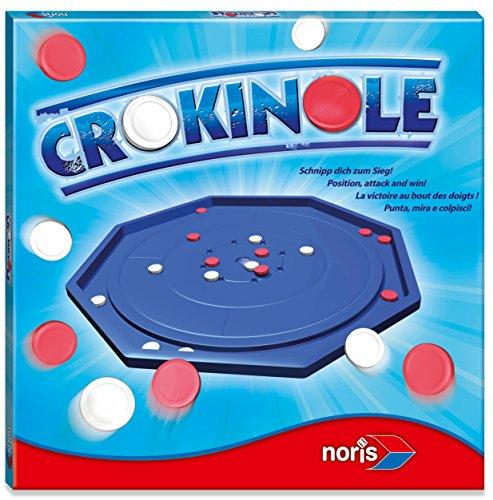 Noris 606171431 - Crokinole, Geschicklichkeitsspiel