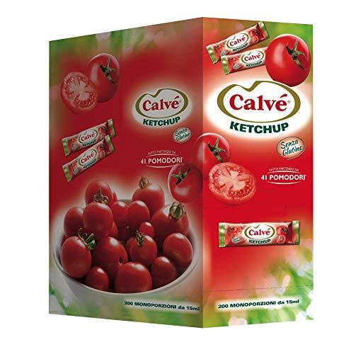 Calvé Ketchup Monodose 200 Bustine x 15 ml