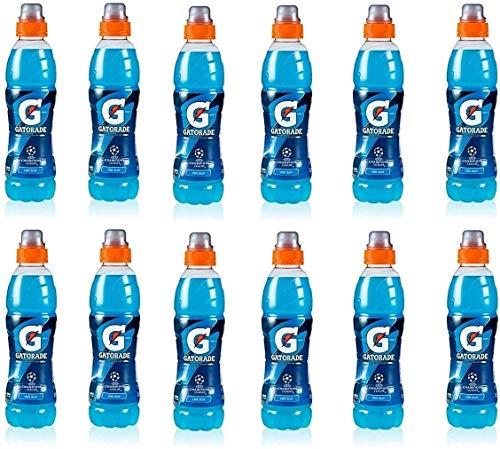12x Gatorade Cool Blue Lampone Bevanda energetica Energiegetränk Himbeere 50 cl