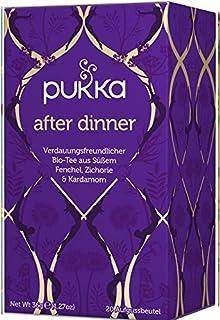 After Dinner PUKKA Tee BIO 4 Packungen à 20 Teebeutel
