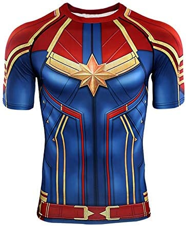 Vip Fashion Avengers Endgame Quantum War 3d Printed Men Women Compression Shirt Cosplay Costume Long Sleeve Gym Fitness Tops Amazon Ca Clothing Accessories