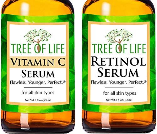 Kit de Sérums - Sérum de Vitamina C + Sérum de Retinol