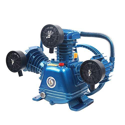 Compresor de aire comprimido tipo W, 3 cilindros, 3 kW, 360 l/min, 8 bar, 115 PSI