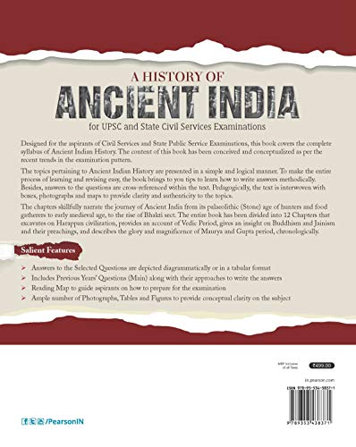 A History of Ancient India   For UPSC and State Civil Services Examinations   First Edition   By Pearson