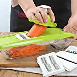 Professional Mandoline Slicer + Food Slicer - 5 in 1 Vegetable Cutter
