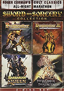 Roger Corman s Cult Classics Sword And Sorcery Collection  Deathstalker Deathstalker II The Warrior And The Sorceress & Barbarian Queen