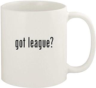 got league? - 11oz Ceramic White Coffee Mug Cup, White