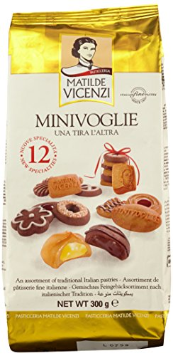 Matilde Vicenzi Mini Voglie Pasticcini Assortiti, 300g