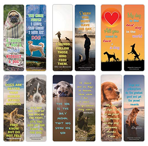 Pet Quotes Bookmarks Series 1 - Pet Dogs (30-Pack)