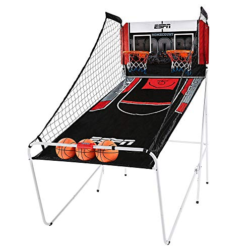 top rated ESPN Home Arcade Basketball Games, Two-player Hoops, Preset Games, LED Scoreboards, … 2020