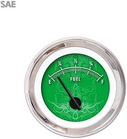 Aurora Instruments GAR190ZEXKABCC Tribal Ranking TOP18 Fuel Gaug New York Mall Level Green