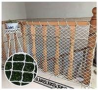 安全ネット 多目的な用途のセーフティネットネット ゴルフネットベランダ 防鳥網 園芸用ネット キッズセーフティレールネット、屋内と屋外のセーフティネット、安全保護ネット子供の安全性/ペットの安全性/おもちゃの安全性;階段用プロテクター、バルコニー、階段、フェンス - 白に使用 怪我防止 危険防止 簡単設置 防獣ネット 動物ガードネット アニマルネット (Size : 2*6m)