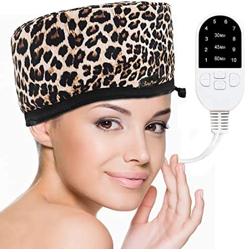 Corded Electric Thermal Heat Cap for a Deep Hair Conditioning Get a Salon Hair Spa Treatment product image