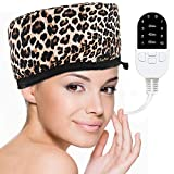 Corded Electric Thermal Heat Cap for a Deep Hair Conditioning, Get a Salon Hair Spa Treatment At Home for Dry, Frizzy, Damaged, Unruly Hair
