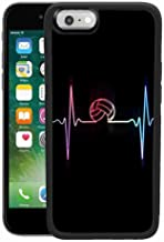 Volleyball Case Compatible for Apple iPhone 6 Plus (2014) & iPhone 6s Plus (2015) [5.5 Version]