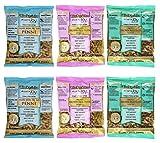 Tinkyada Organic Gluten-Free Brown Rice Pasta 3 Shape Variety Bundle: (2) Elbow Pasta, (2) Spirals Pasta, and (2) Penne Pasta, 12 Ounce Ea.