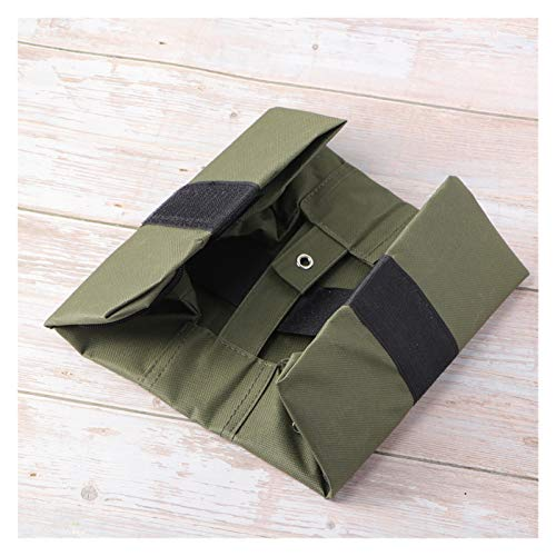 YJLLOVE YANGJIAOLIAN 1 stücke Outdoor Rainshed Fixation Earthbags Display Unterstützung Rahmen Feste Winddichte Sandsack-Tasche (Color : Green)