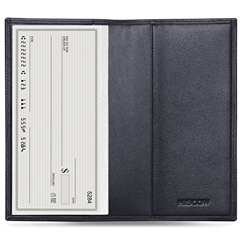Our #1 Pick is the Hiscow Checkbook Wallet