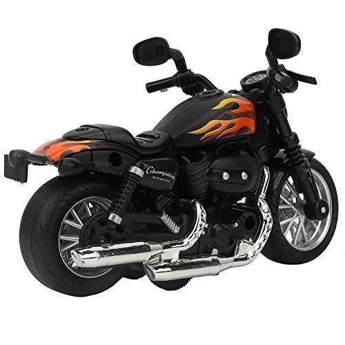 Motocicleta de juguete de aleación eléctrica, modelo de moto juguete, con música luz, para regalo de…
