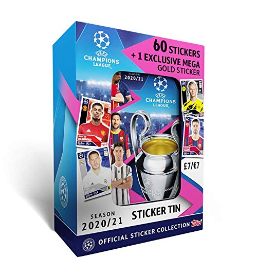 Topps UEFA Champions League 2020/21 - Tin de colección