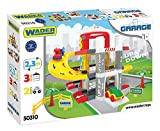 Wader 50310 - Multi Level Parkgarage auf 3 Ebenen mit 2 hochwertigen Fahrzeugen, ab 12 Monaten -