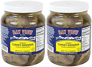 Bay View Turkey Gizzards, Two Jars