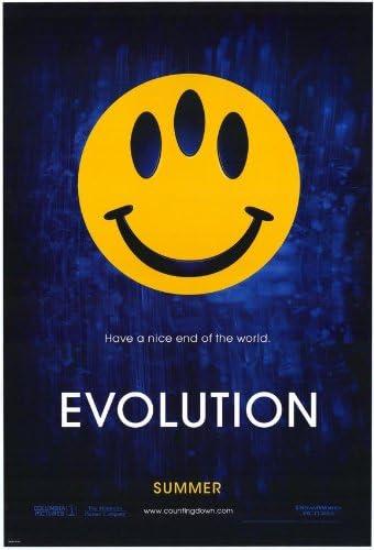 Evolution–Movie Poster–11x 17