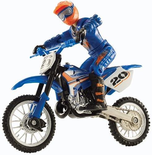 Hot Wheels Motor Cycles Moto 20 - Motorrad mit Fahrer - für Stunts beweglich