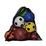 Mesh Equipment Ball Bag Heavy Du...