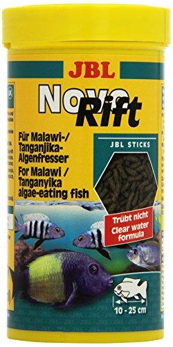 JBL NovoRift 250ml - Aliment de base en bâtonnets pour Cichlidés brouteurs d'algues