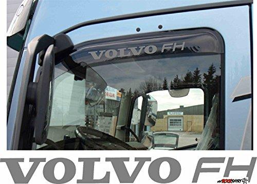 2 x VOLVO FH 60 cm Aufkleber für Scheibe, Lack, Hochleistungsfolie, UV& Waschanlagenfest`+ Bonus Testaufkleber