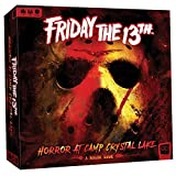 Friday The 13th: Horror at Camp Crystal Lake | Press Your Luck Game | Watch Out for Jason Voorhees | Featuring Classic Horror Film Tropes, Characters, & Icons | Collectible Horror Movie Memorabilia