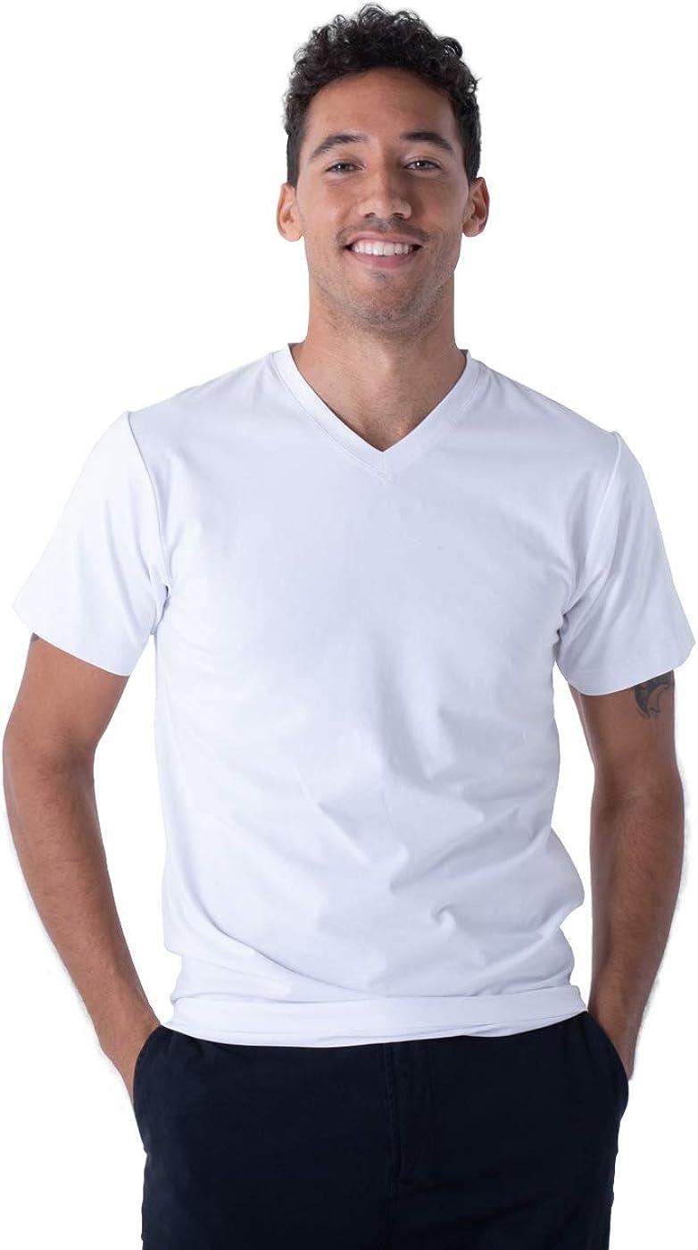 360° Sweatproof New sales V-Neck Undershirt with shopping Shirt Neat Tech Full