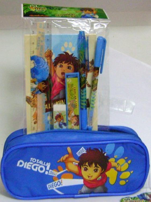 Diego Blau Pencil Pencil Pencil Case and Stationery Set by Diego B016LC0G7C   Beliebte Empfehlung  9c9655