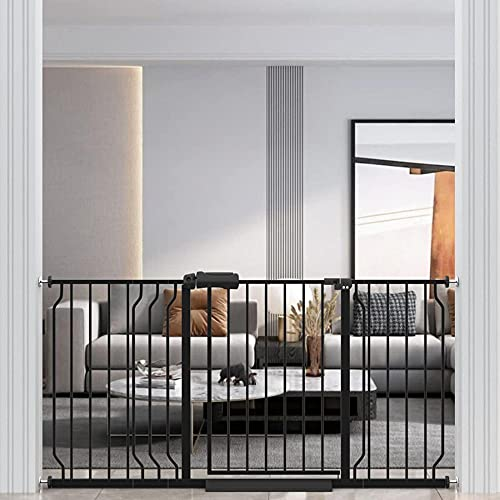 xunhxwl Bloquee Las cercas y Las barreras de la Escalera para Proteger a los niños y Las Mascotas.-Alto 80cm_145~152 cm