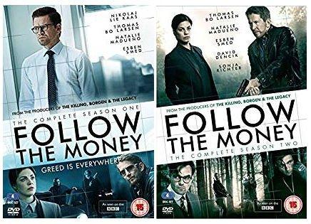 Danish crime drama Follow The Money Season 1-2 Complete DVD Collection