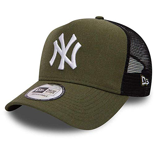 New Era New York Yankees Trucker Herren Kappe Grün