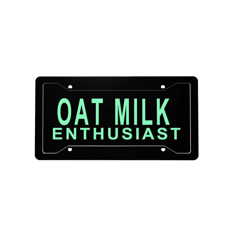 Oat Milk 2021 new Enthusiast License Plate Decorative Sales Front L Vanity Car