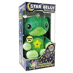 1. Ontel Star Belly Dream Lites Dreamy Green Dino Night Light