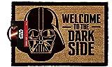 empireposter Star Wars Welcome to The Darkside–Felpudo, tamaño: 60x 40cm, Material Fibra de Coco
