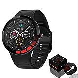 Smartwatch,Fitness Armbanduhr mit Blutdruck Messgeräte,Pulsoximeter,Pulsuhren Fitness Uhr Wasserdicht IP68 Fitness Tracker Schrittzähler Uhr für Damen Herren Smart Watch für iOS Android Handy