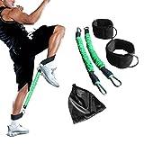 Ankle Resistance Training Speed and Agility Training Tool Ankle Resistance Bands for Football Basketball Taekwondo Yoga Boxing Soccer Kick Boxing Thai Punch Karate Running