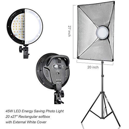 Emart Photography Softbox Lighting Kit, Photo Equipment Studio Softbox 20