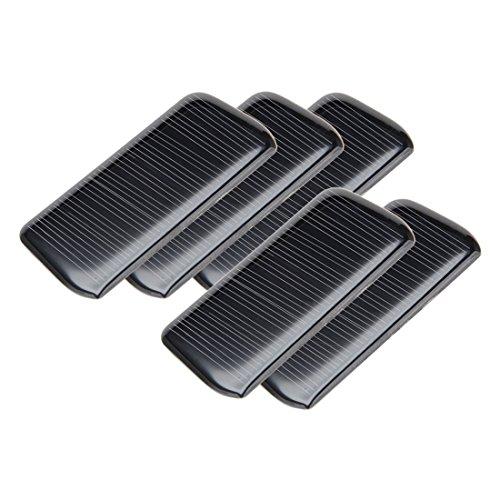 sourcing map® 5 Stk 5V 60 mA Poly Mini Solarzelle Panel-Modul Selberbasteln für Telefon Licht Spielzeug Ladegerät DE de